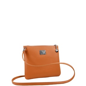 Palma Orange Crossbody Bag