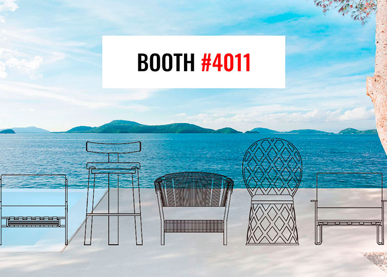 Las Vegas: the biggest North American designer and outdoor furniture show