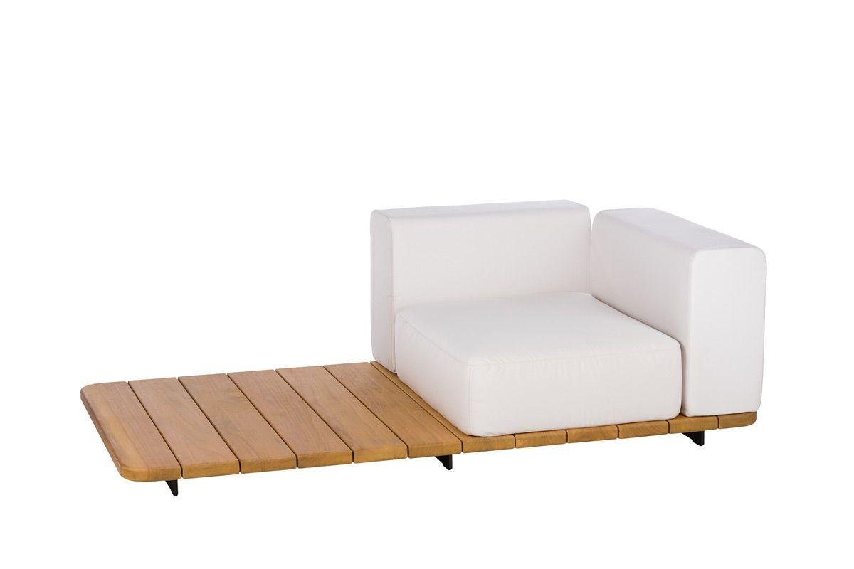 BASE + SINGLE SEAT + BACK + LEFT ARM