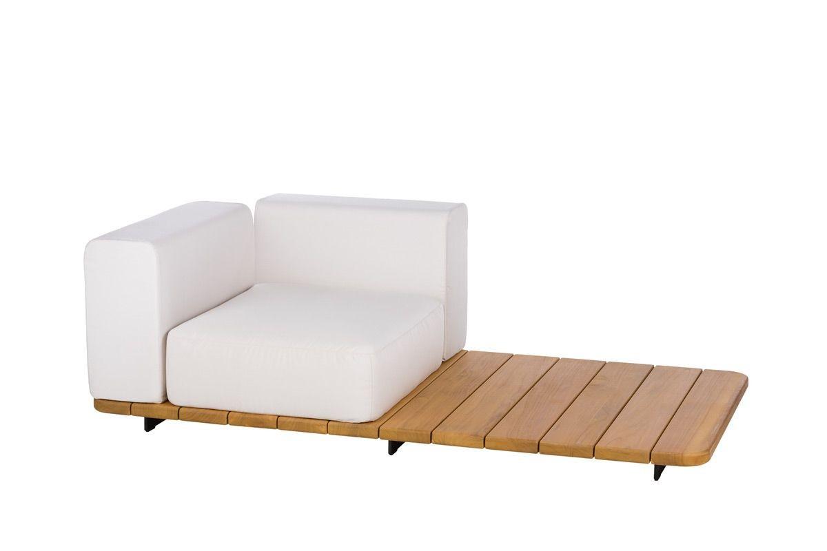 BASE + SINGLE SEAT + BACK + RIGHT ARM