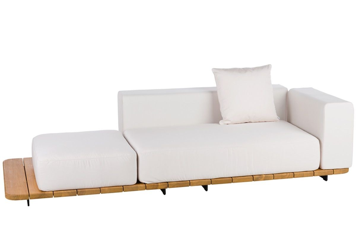 BASE + DOUBLE SEAT AND BACK + SINGLE SEAT + LEFT ARM