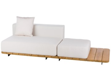 246X92 CM BASE + DOUBLE SEAT AND BACK + SINGLE SEAT RIGHT