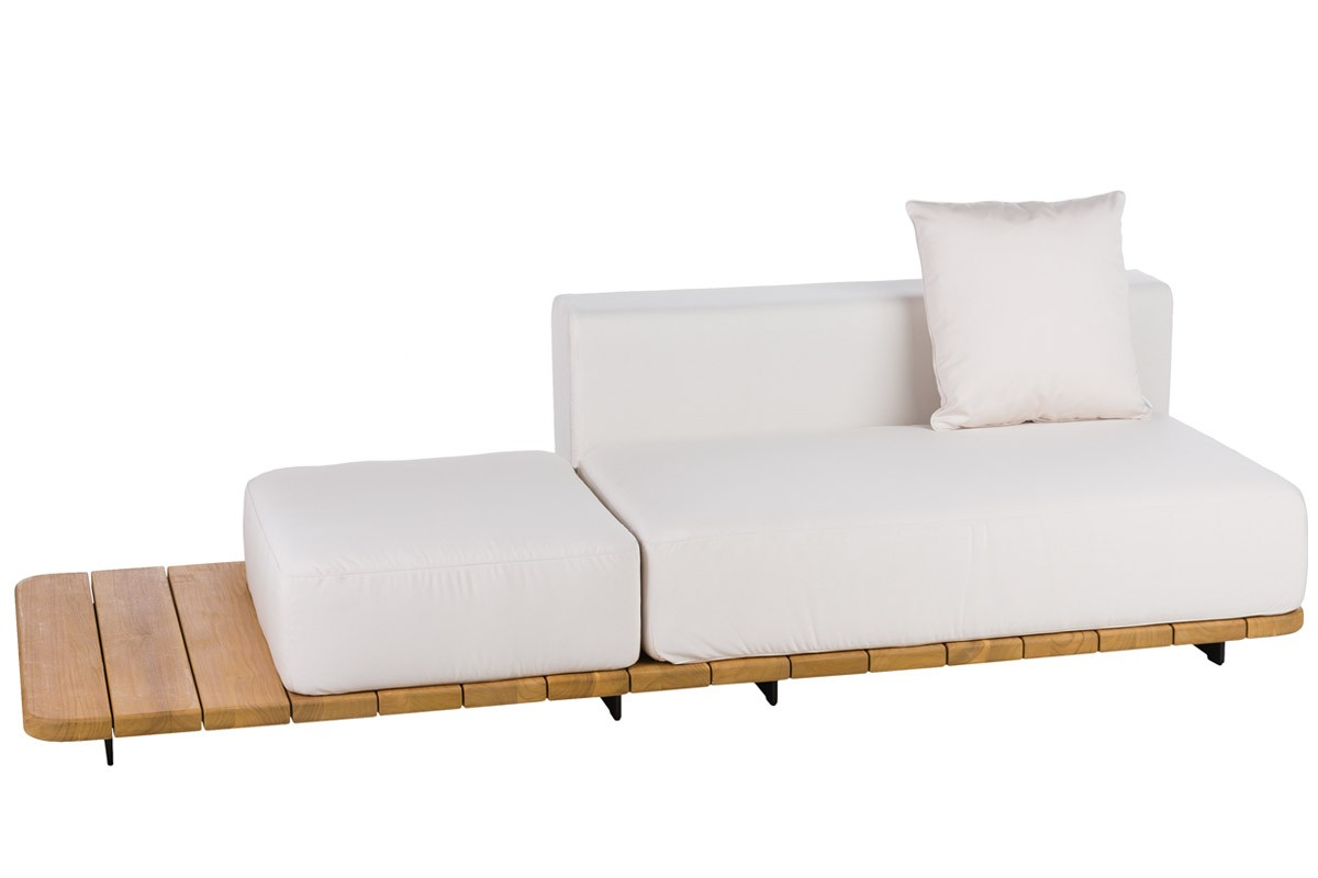 BASE + DOUBLE SEAT AND BACK LEFT + SINGLE SEAT