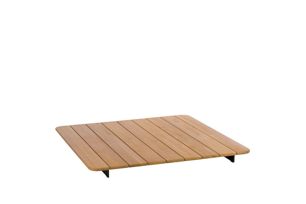 SQUARE TEAK TABLE TOP
