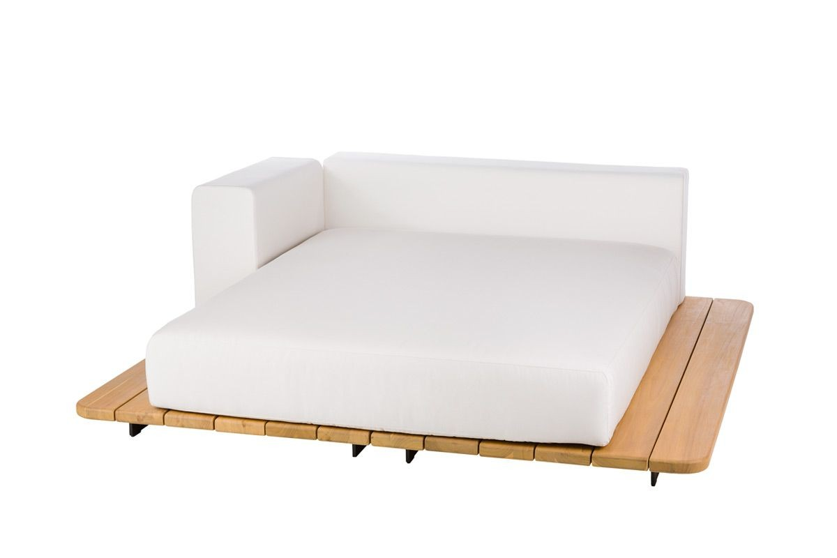 BASE + SUNBED SEAT + DOUBLE BACK + RIGHT ARM