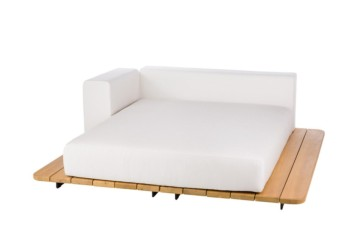 185x185 CM BASE + SUNBED SEAT + DOUBLE BACK + RIGHT ARM