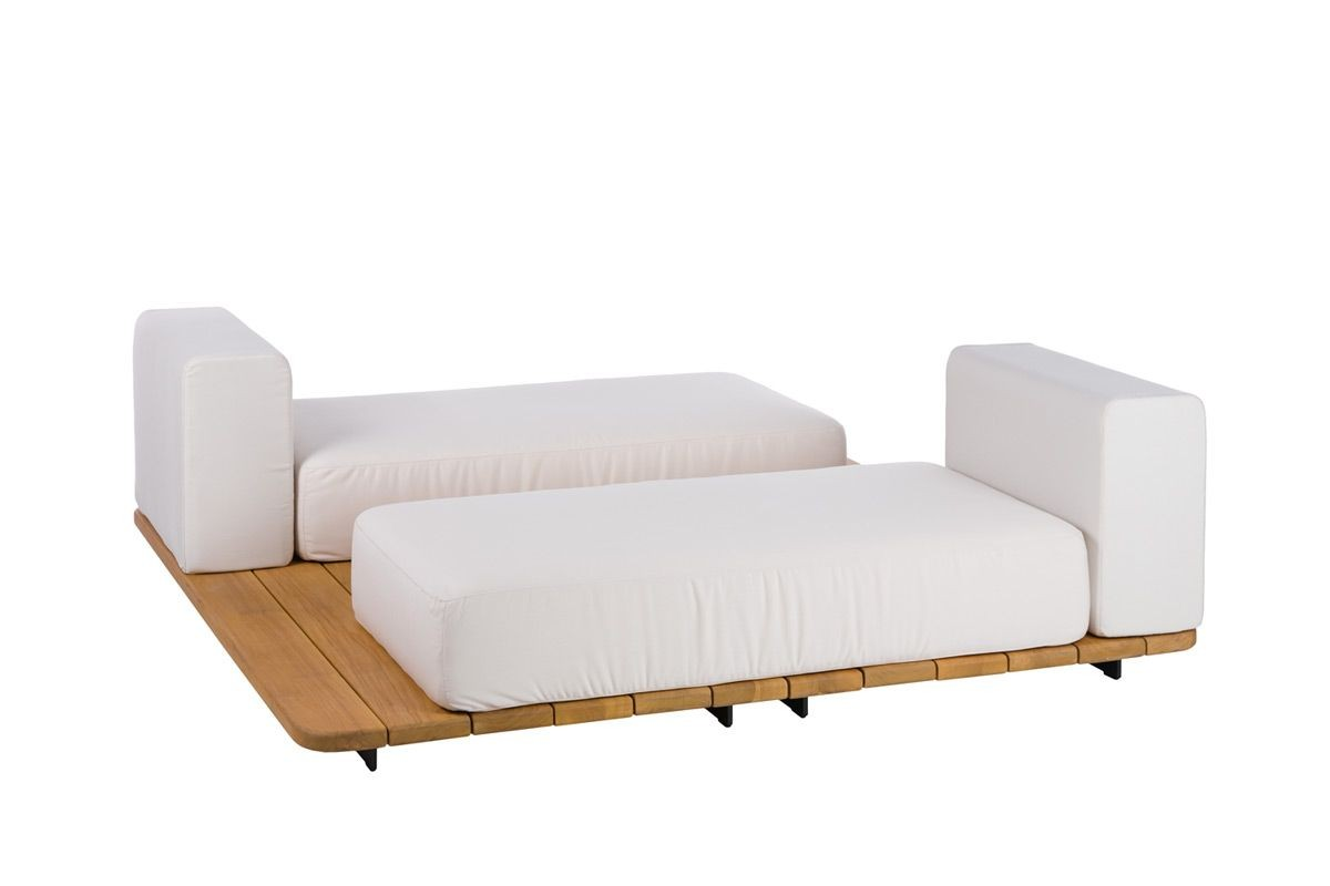 BASE + 2 DOUBLE SEAT + 2 VIS A VIS SINGLE BACK