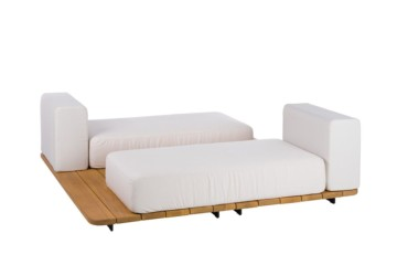 BASE + 2 ASIENTO DOBLE + 2 VIS A VIS RESPALDO SINGLE
