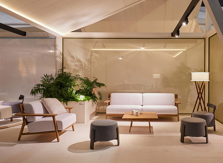 Paralel by Gabriel Teixidó, the new sophisticated and warm outdoor collection from POINT