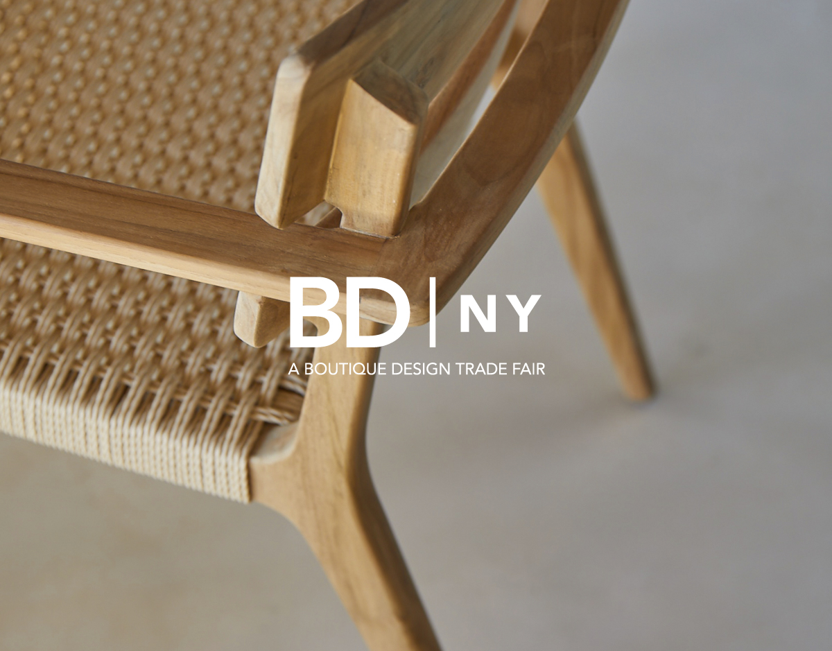 International design is coming together in New York and POINT can't miss out on it
