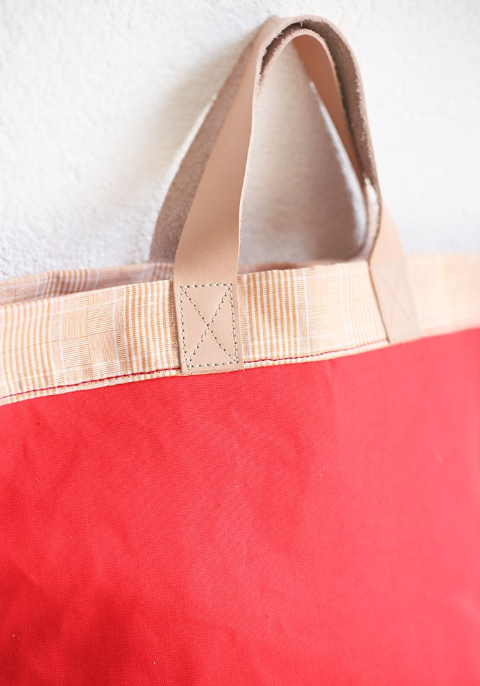Bolso Shopper Reversible Coral 1