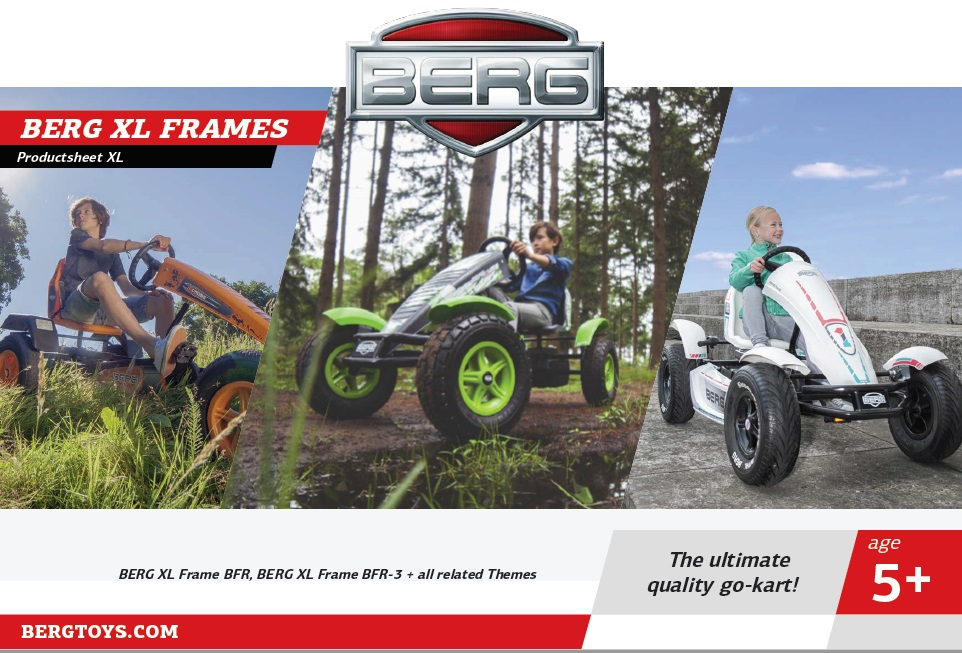 Berg XL Frames