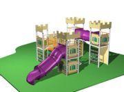 Parc infantil Castell de l'Edat Mitja