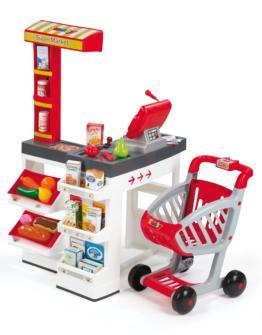 supermercado, supermercado de juguete, smoby