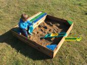 Caixa de Areia Masgames banco-