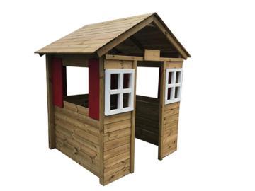 Casita de madera infantil Fresita XL escuelas, casitas de madera, casitas infantiles de madera, casitas de madera para escuelas, casitas infantiles de madera para escuelas, casas de madera para niños, casitas homologadas infantiles, casita made,