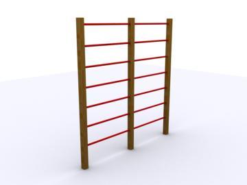 espalderas, espalderas de madera, circuito de ejercicios, ejercicio físico, aparatos para hacer ejercicio, soportes para hacer ejercicio, topludi