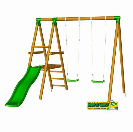 Parque infantil milos for Columpios infantiles