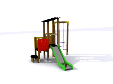 Parques infantiles, parque infantil, parques con trepadores, trepadores, entretenimiento para niños, topludi