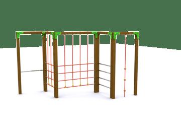 Trepador Modelo 1, trepadores, juegos para niños, trepadores para niños, entretenimientos infantiles, entretenimientos para niños, topludi
