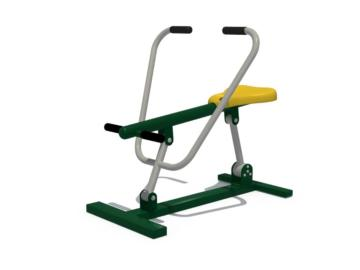 Ciclón, norten, fitness exterior, columpios deportivos, parque fitness, columpios norten, fitness al aire libre