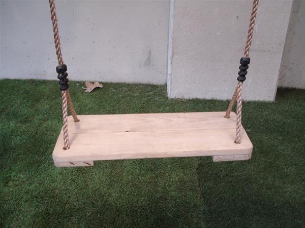 Asiento de madera para columpios - Columpio de madera ...