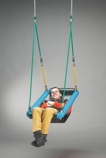 columpios, accesorios de columpios, discapacidad, diversidad funcional, asientos para discapacitados, asientos para diversidad funcional, accesorios de columpios de uso público, columpios de uso público