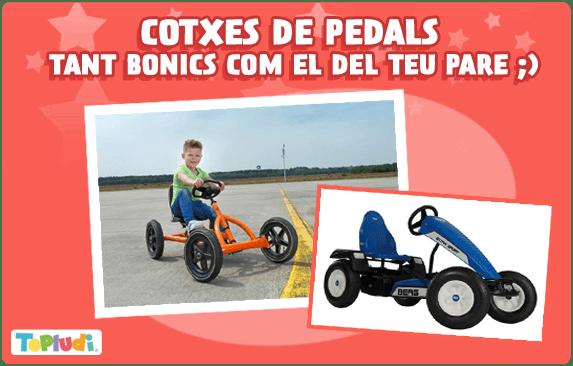 Cotxes de pedals