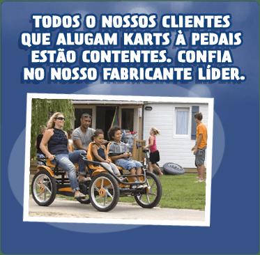 Quadriciclos a pedais BERG