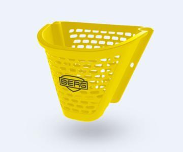 Berg Buzzy Basket yellow, cesta amarilla buzzy, berg buzzy, berg toys, coches de pedales, karts de pedales, kart de pedales, cuadriciclos, vehiculos a pedales, karts infantiles, coches infantiles, cochecitos infantiles, quads a pedales,