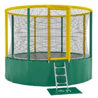 camas elasticas, trampolines, broncolines, saltarines, trampolines akrobat, cama elástica