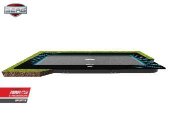 Cama elástica rectangular BERG Ultim Elite Flatground