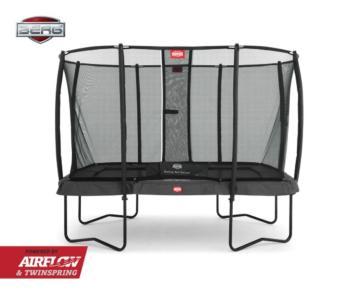 Cama elástica rectangular BERG Eazyfit Grey