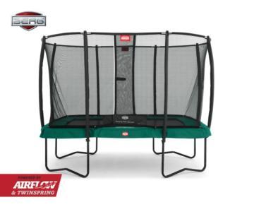 Cama elástica rectangular BERG Ultim Champion Green