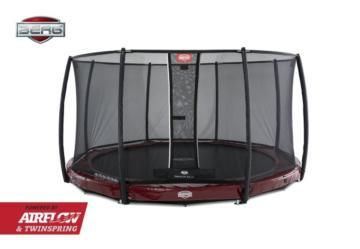 Cama elástica Berg Elite InGround 430 + Red Deluxe