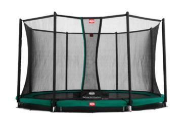 cama elastica, saltarines, trampolin, trampolines, berg toys, berg inground, red de seguridad, camas con red