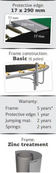 característiques llits elàstics BERG TALENT