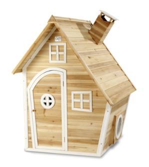 casita de madera, casita de madera natural, casita de madera de cedro, casita de madera fantasía, casita de madera para jardín, casita de madera para parques