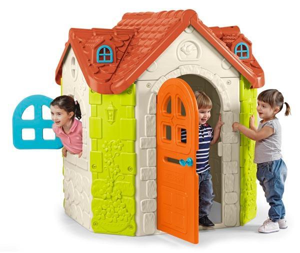 Casita infantil fancy house de feber for Casa juguete jardin