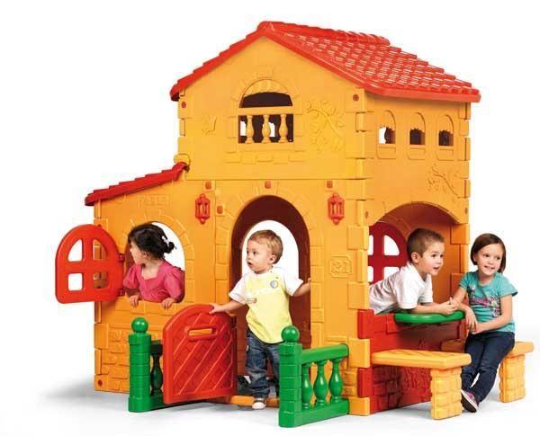 Casita Infantil Grande Villa Feber - Casitas-infantiles-plastico