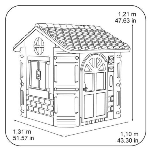 Casita infantil feber house for Casita infantil feber