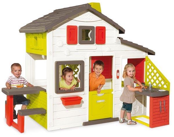 Casita friends house con cocina - Casitas de jardin para ninos baratas ...