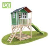 Casita de madera infantil Loft 700 Green