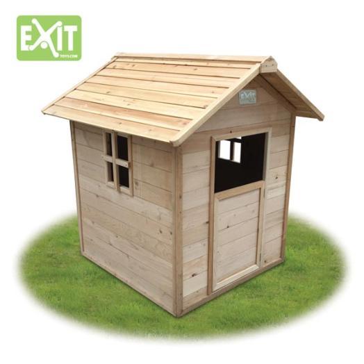 Casita infantil de madera ibiza for Casitas madera jardin