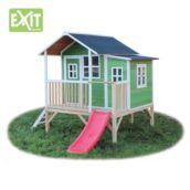 Casita de madeira infantil Loft 350 Green