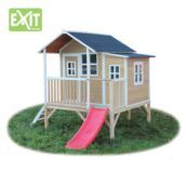 Casita de madera infantil Loft 350 Natural