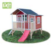 Casita de madeira infantil Loft 350 Red