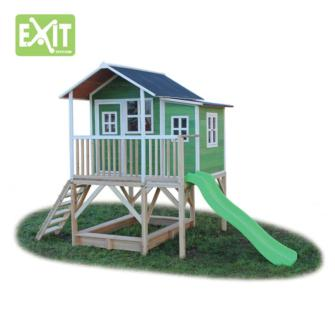 casitas infantiles, casita loft 550 green, entretenimientos para niños, juegos infantiles, juegos para niños, topludi