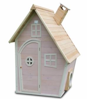 Casita madera infantil fantasia pink