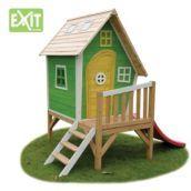 Caseta infantil de fusta amb tobogan Fantasia